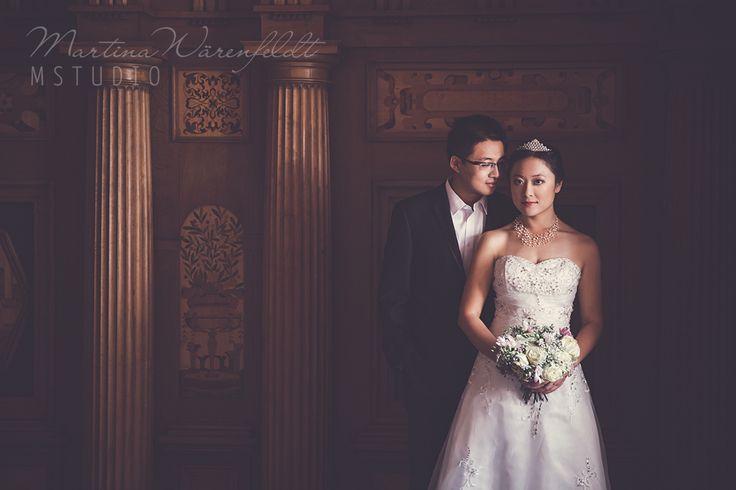Wedding, wedding photography, wedding photographer Sweden,   bride, wedding photos, photography, Martina Warenfeldt, portrait photographer in Sweden,  Mstudio, castle wedding, destination wedding Sweden, Chinese bride, asian wedding photography