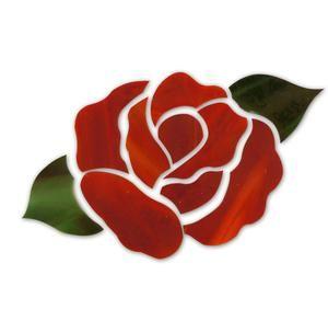 Red Rose Flower Premium Pre-Cut Kit