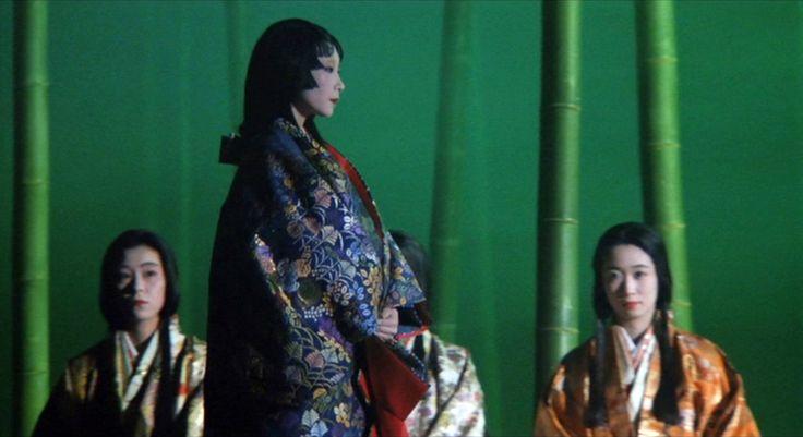 山口小夜子(やまぐち・さよこ)「利休」(1989) : 夜ごとの美女
