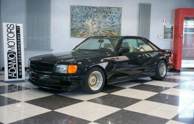 """Une très rare Mercedes-Benz 560 SEC AMG """"Special Koenig"""" à vendre"""