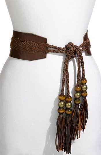 "Betsey Johnson ""Tassel Tie"" Belt"