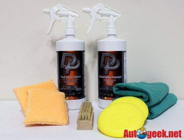 How To Clean and Protect Interior Leather & Vinyl with Detailer's Pride - Auto Geek Online Auto Detailing Forum