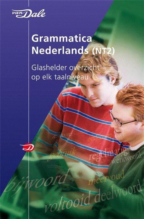 Van Dale grammatica Nederlands  Dit e-book is geschikt voor een tablet en niet voor zwart-wit e-readers. Een glashelder overzicht van de Nederlandse grammatica op elk niveau nu ook als e-book! Als je een vreemde taal leert of gebruikt heb je woordenboeken nodig maar moet je ook snel informatie kunnen vinden over de grammatica. Het e-book Van Dale Grammatica Nederlands (NT2) geeft je een compleet overzicht. De onderwerpen worden behandeld op verschillende taalniveaus zodat je de grammatica…