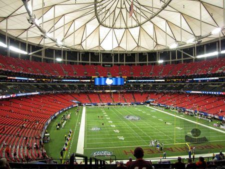What's on the Atlanta Falcons' Christmas Wish List? A New Stadium!