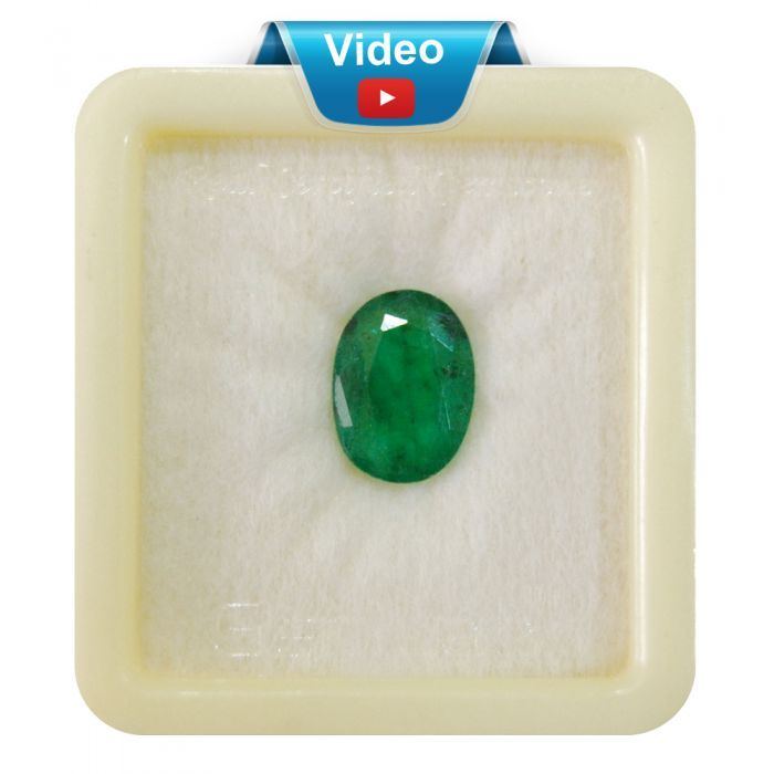 Buy Natural Emerald Sup-Pre 4+ 2.8ct from http://bit.ly/2w23Yg7 Colombian Emeralds.
