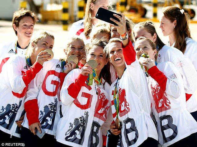 Quite a summer...and Team GB will celebrated with a glittering party at…