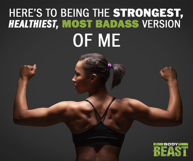 Body Beast Workout for Women - Be a BADASS!