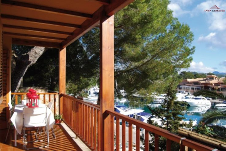 Terrace of the apartment in Mallorca