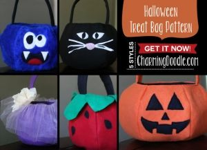 Halloween Treat Bags and Holders - About
