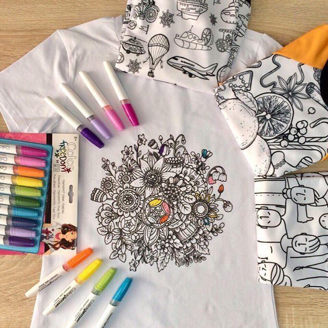 Свитшоты, футболки, костюмы и даже платья - раскраски - все это вполне реально вместе с #истерика3д  Оригинальный подарок для взрослых и детей , которые любят творить также , как и мы ! Такие вещи стильно смотрятся как в исходном черно-белом варианте , так и  после добавления красок! ️Выбирайте подходящий вам дизайн и заказывайте эксклюзивные раскраски от Isterika3d#musthave #подарокжене #подарокдевушке #подароклюбимой #подарокнадр #подарокдетям #свитшотраскраска #раскраска #свит...
