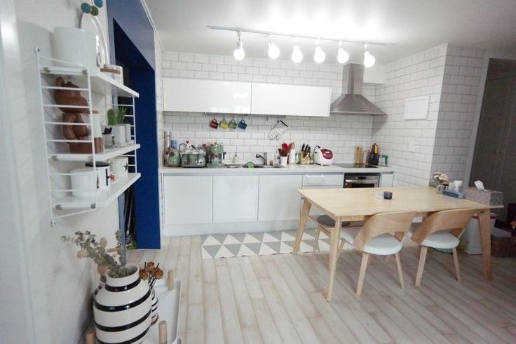 [온라인 집들이 ②] 신혼집 인테리어 - 여자의 로망, 주방인테리어 ♥ : 네이버 블로그