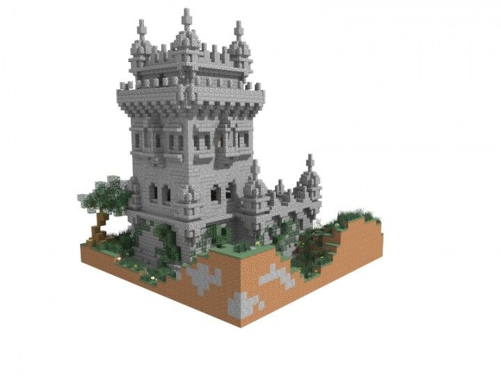Fort | 35x35 Plot [Schematic Included] Minecraft Project