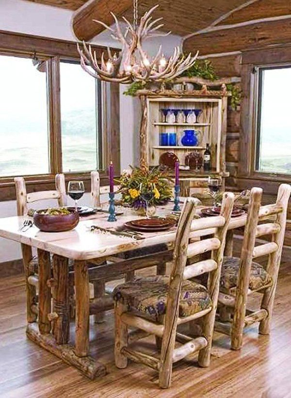 Look for more wooden furnishings that you can use in either your living room or dining areas. These furnishings are easier to clean and match around with what other furnishings that you have in the room.