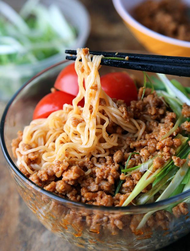 how to make noodles less spicy