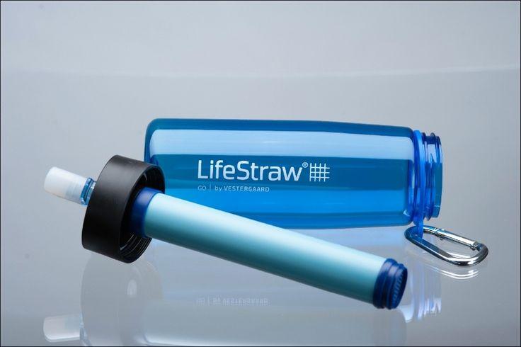 The Solar Light Company - LifeStraw® Go Personal Water Filter, £33.95 (http://www.thesolarlightcompany.co.uk/lifestraw-go-personal-water-filter/)