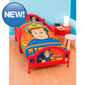Fireman Sam Toddler Bed - could be a serious contender