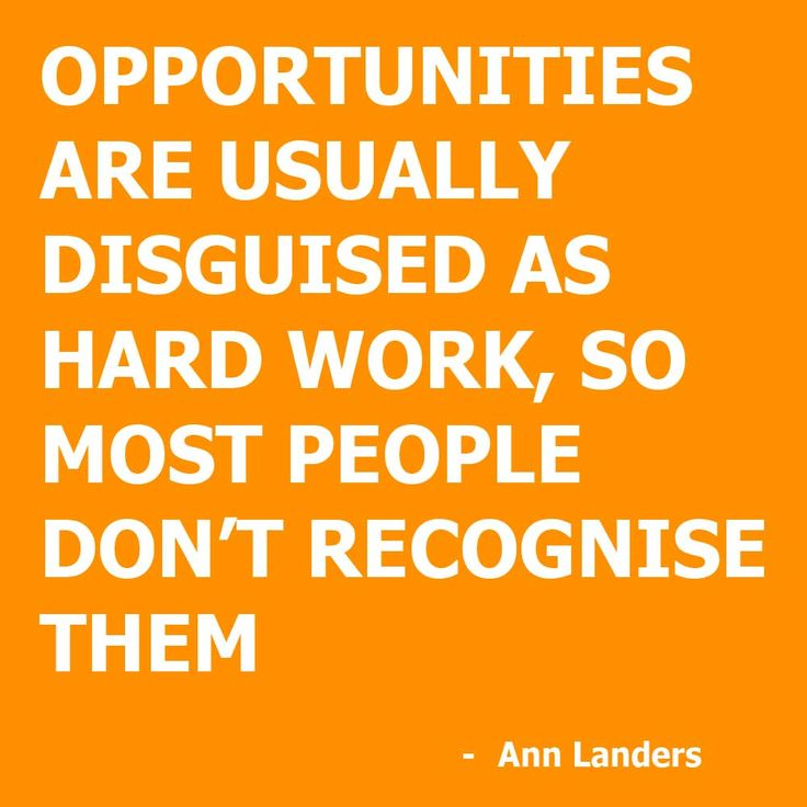 25 Best Quotes For Hard Work On Pinterest: Ann Landers - Hard Work Quote