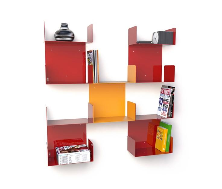 DOBLE  designer: Esprimodesign Studio    #bookcase #book #furniture #office #childroom #living