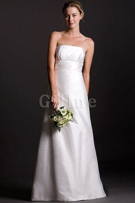 Robe de mariée chic a-ligne couverture de moitie bucolique de bustier