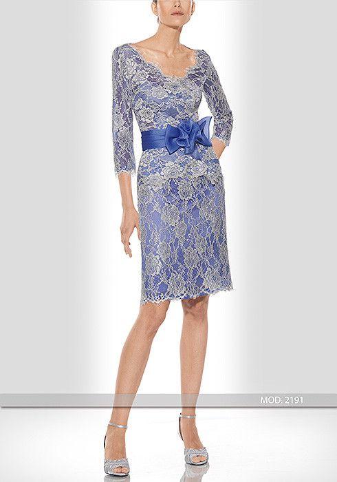 Vestido de madrina corto 2 piezas de Teresa Ripoll modelo 2191 by Teresa Ripoll   Boutique Clara. Tu tienda de vestidos de fiesta.