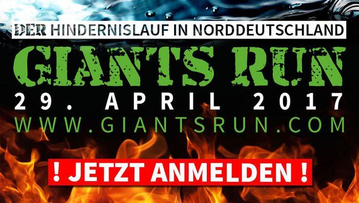 Extrem-Hindernislauf in der Wingst - Giants Run. Professionals dürfen hier auf einer 18 Kilometer langen Strecke, mit 20 % Steigung ihr Können beweisen.