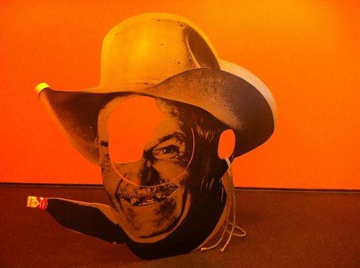 Cady Noland's Chainsaw Cut Cowboy, 1990, at MCA Chicago