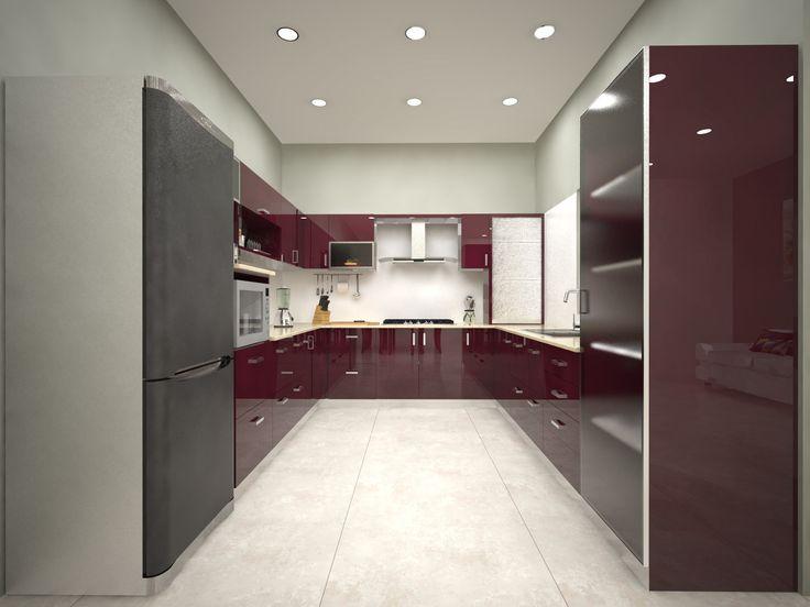 Visit our modular u shaped kitchens interior designers for Kitchen design visit