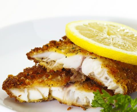 Baked Tilapia with Panko Breadcrumbs | AmazingSeafoodRecipes