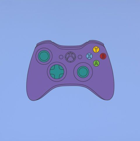 Michael Craig-Martin: Transience | Serpentine Galleries. Michael Craig-Martin; Untitled (xbox control), 2014; Acrylic on aluminium; © Michael-Craig Martin; Courtesy of Gagosian Gallery; Photo: Mike Bruce