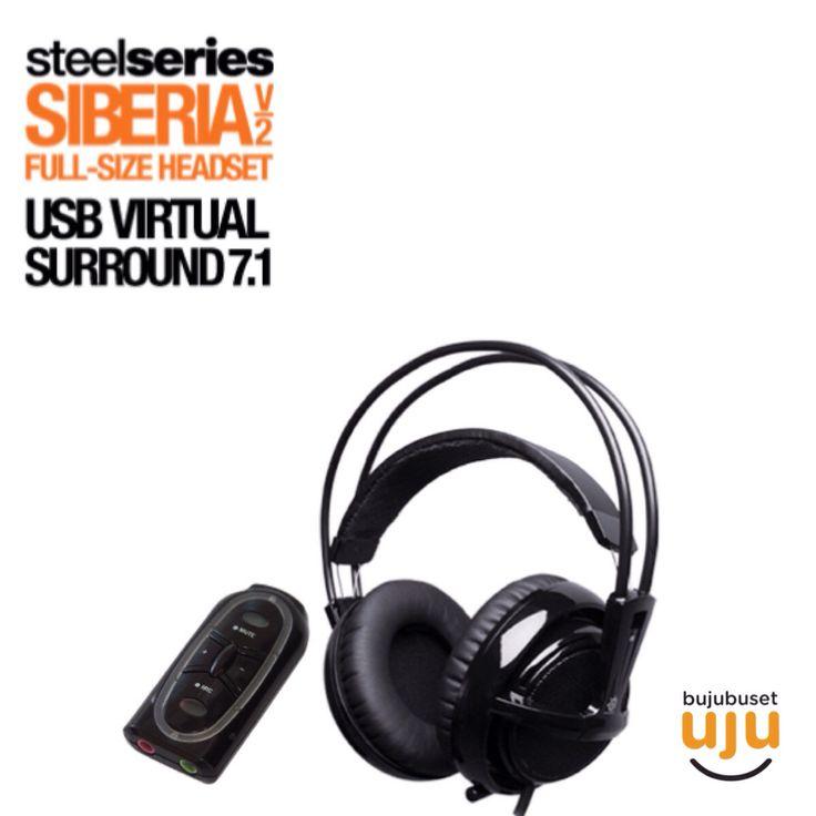 Steelseries - Siberia V2 USB Black  Panggil Bujubuset buat nanya harga.