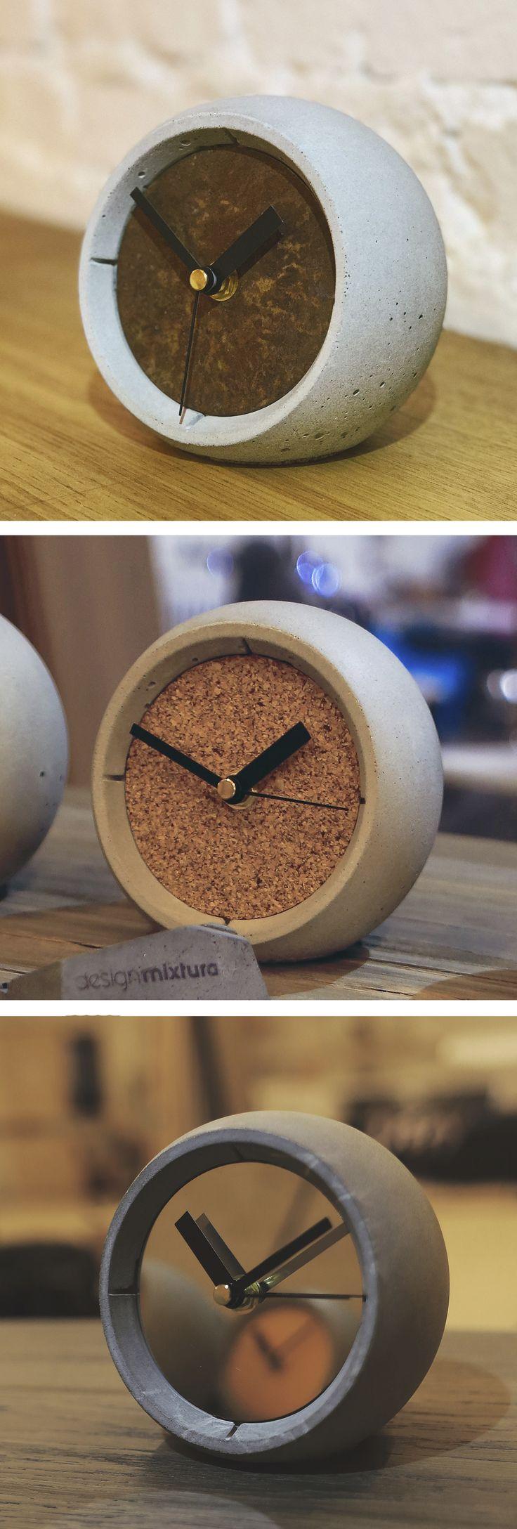 Concrete sphere watch