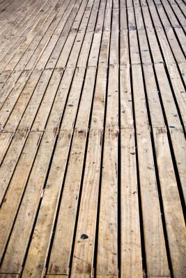 How to Clean Mold & Mildew From Treated Wood Decks