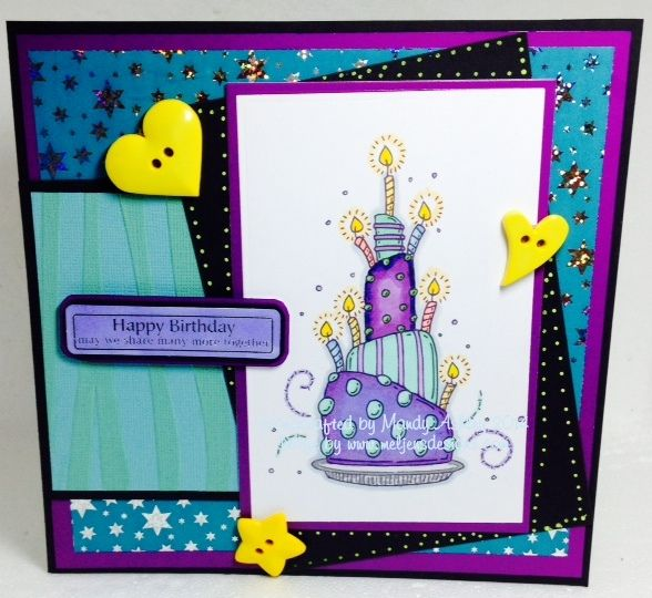 Card created using image from Meljen's Designs.