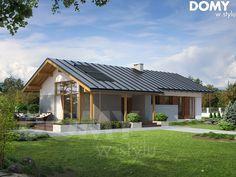Wizualizacja projektu domu Heban