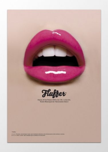 Sopa – Poster for the play Fluffer