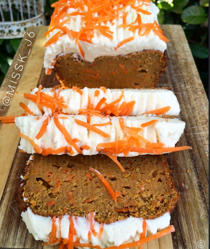 Healthy Pumpkin Carrot Cake Protein Bread