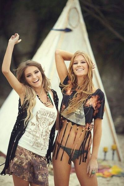 Festival Friends ... Boho Bohéme Feathers