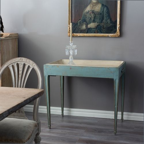 Gustavian Tray Table