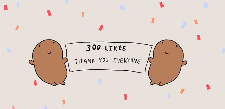 We now have 300 Potato likes on Facebook. Thank you everyone!