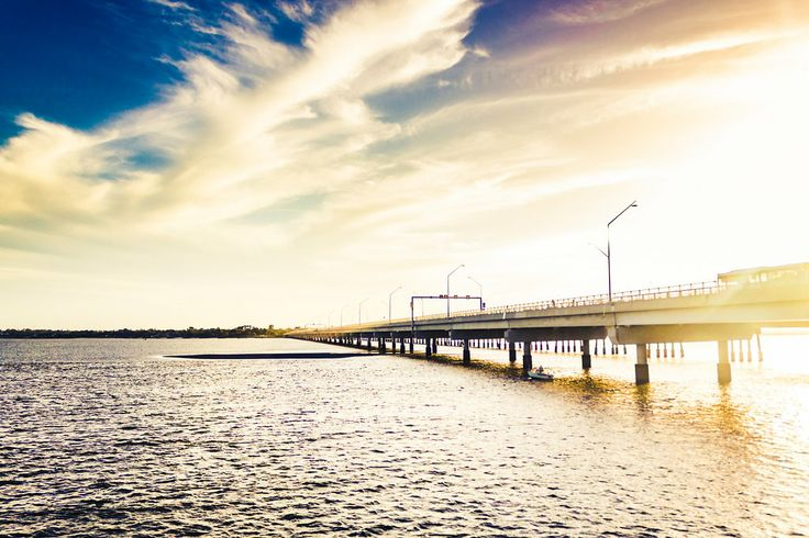 Ted Smout Memorial Bridge - Brighton/Redcliffe, QLD, Australia - Zac Harney Photography