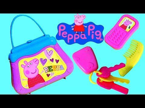 Peppa Pig My Very First Purse - Minha Bolsinha da Porquinha Peppa Primeira Infância Nickelodeon - YouTube