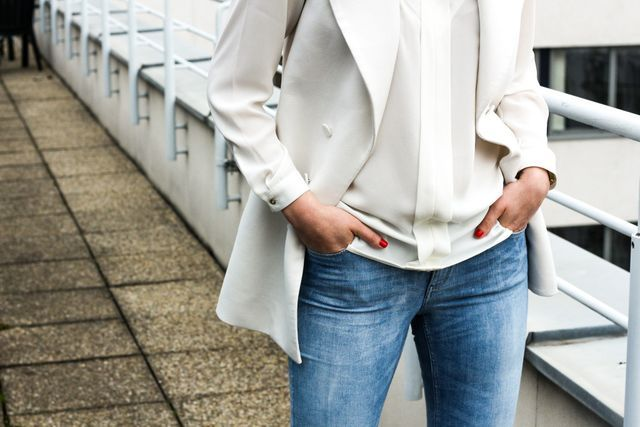 OUTFIT: WHITE WAISTCOAT
