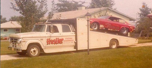 Car Hauler for The Hustler Chevy Vega AA/FC Funny Car