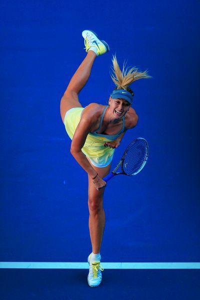 Maria Sharapova @jugamostenis #tennis #AO13 #nike                                                                                                                                                                                 Más