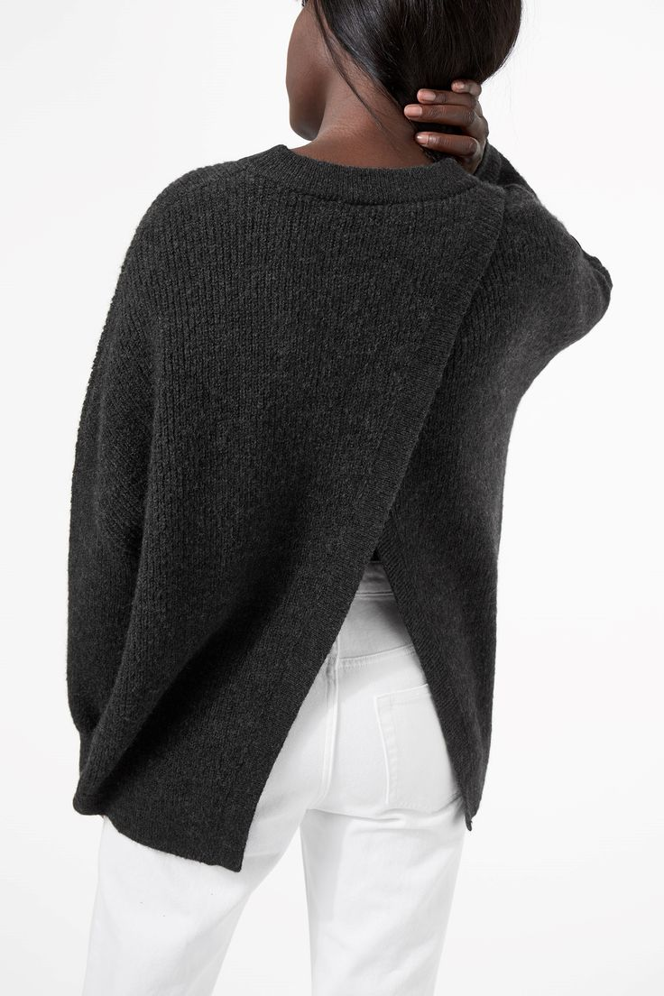 Weekday image 4 of Mari Sweater in Grey Dark