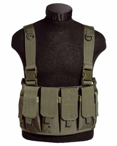 Military Airsoft Tactical Mag Carrier Combat Chest Rig Army Pouches Police Olive Mil-Tec http://www.amazon.co.uk/dp/B005MYB18E/ref=cm_sw_r_pi_dp_so8ewb1S16CC1