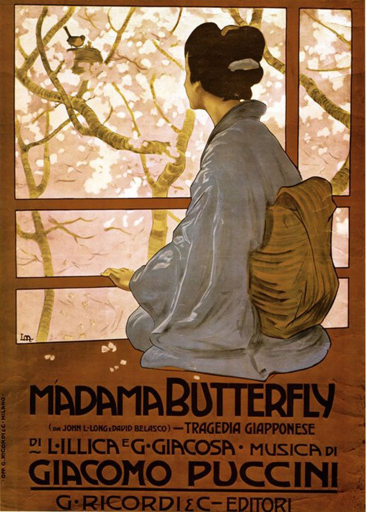 metlicovitz - poster Madama Butterfly