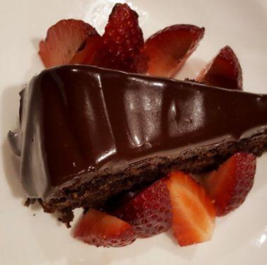 Healthy Chocolate Pumpkin Mud Cake With Chocolate Ganache