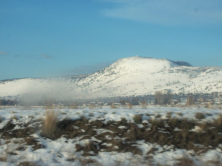 https://flic.kr/p/Lv5TQW | Winter in the Klamath Basin 4 by Sherrie D. Larch | The Klamath/Tulelake Basin is located in both Southern Oregon and Northern California. Winter in the Klamath/Tulelake Basin changes on a dime, one minute its snowing next its sunny with blue skies. This was on the way to college in Klamath Falls, Oregon and in just a few minutes it was snowing and then blue sky and sunshine.