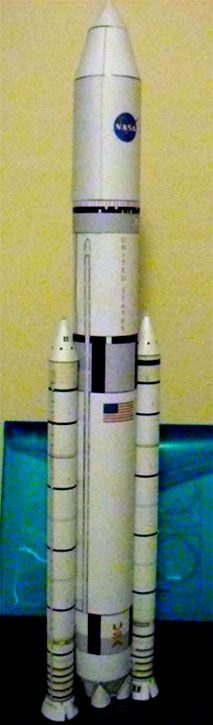 Aerospace Engineering - Directions for making a 1:144 Scale (Paper) Model of the Space Launch System